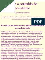 Castoriadis, C - Sobre o conteúdo do socialismo