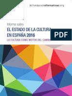 Estado de La Cultura en España 2016