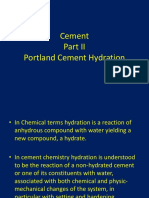 Lecture 3 - Cement Hydration