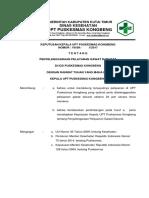 7.6.2.2kebijakan Penanganan Pasien Gawat Darurat