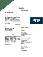 Fort Bonifacio Case Tax