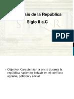 Roma República (Eje III)