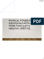 Physical Fitness for Individuals With ASD