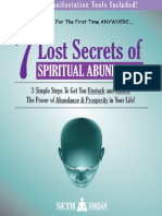 7 Lost Secrets Book