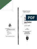 philipe perrenoud 10 NOVAS COMPETÊNCIAS PARA ENSINAR.pdf