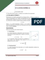 Ecuaciones empíricas