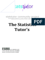 Tutors Quick Guide to Statistics Print 2 Up Pamphlet