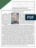 Avaliação de Interpretação de Texto Para Ensino Médio