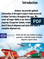 Looking for the top import and export data of India import export data