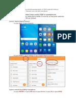 Copiere Date de Contact de Pe Smartphone Pe Cardul SIM