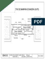 Detalle Constructivo de Mamparas
