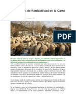Estrategias de Rentabilidad en La Carne de Ovino