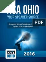 Business Speakers, Corporate Speakers and Motivational Speakers in Ohio