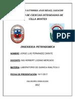 Informe 7 de Quimica Analitica