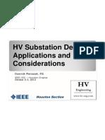 HV Substation Application Design R1