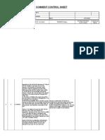 Comment Control Sheet v SIE EL001 COMMON 047_C