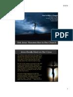 Gospels 13 Link Jesus' Resurrection to the Church