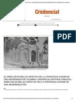 EL PABELLÓN DE BELLAS ARTES DE 1910, LA FRUSTRADA ILUSIÓN DE UNA MODERNIDAD EN COLOMBIA _ Revista Credencial