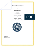 Std Info System Report
