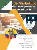 Casos de Marketing en el entorno empresarial ecuatoriano
