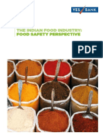 BRC Global Standards - Yes Bank the Indian Food Industry Food Safety Perspective