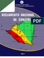 REGLAMENTO NACIONAL DE CONSTRUCCIÓN