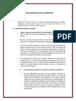 Conceptos Medicos de Salud y Enfermedad Informe