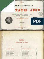 CARREZ-Atlas Historicum Societatis Jesus, París 1900