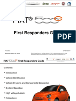 FIAT 500e First Responders Guide