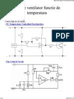 Turatie Ventilator Scheme