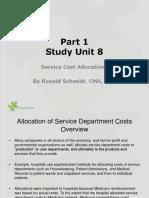 Part 1 SU8 Service Cost Allocation