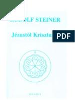 Rudolf Steiner-Jézustol Krisztusig