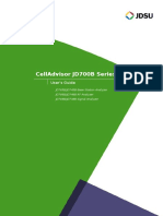CellAdvisor JD700B User Guide R3 1 Min 0