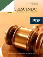9. Revista in Crescendo - Derecho - 1er. Numero