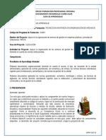 Gfpi-f-019 Formato Guia de Aprendizaje Produccion de Documentos