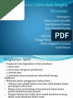 Kelompok 7 - 1B - Ppt - Singkatan Latin