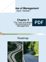 Chapter 3 - Task and Macro Environments of Management