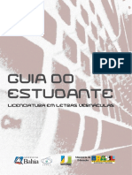 Guia Do Estudante Licenciatura Em Letras Vernáculas