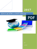Trabajo Final Educacion a Distancia