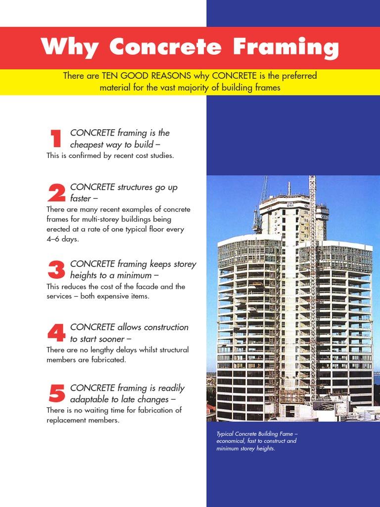 Why Concrete Framing.pdf | Framing (Construction) | Concrete