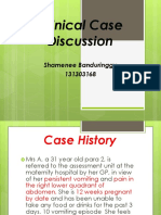 Ccd Obstetric Gynecology