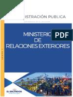 foda e interrelaciones Ministerio de Relaciones Exteriores