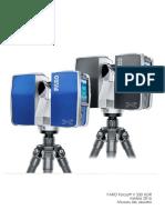 E1477 FARO Laser Scanner Focus3DX330HDR Manual ES