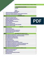 Lista de Documentos Dpto Ambiental