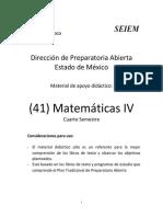 41 Matemáticas IV prepa abierta