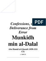 Ghazali - Confessions or Deliverance From Error