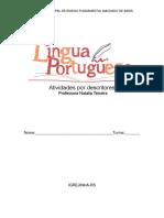 Apostila Língua Portuguesa 9ano Versaoaluno