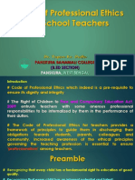 Code of Professional Ethics for School Teachers