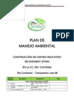 2. Plan de Manejo Ambiental - ECOSAC RLTDA - Rev. ECOSAC Rltda