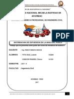 Informe Final Del Problema de Boussinesq y La Carta de Newmark